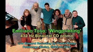 emiliano toso wingprinting 432 hz binaural cd promo 3d binaural audio