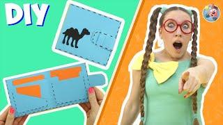 Как сделать открытку кошелёк для мальчиков.DIY.