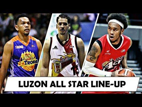 2018 PBA ALL-STAR LUZON LINE-UP VS GILAS! - Batangas Leg / Castro, Pringle, Aguilar, Lassiter etc.