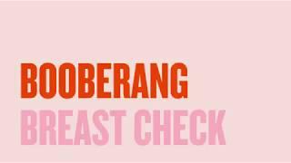 Booberang breast check