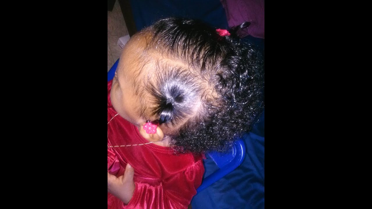 Hair Styles For Girls: Newborn to 12 Months old - YouTube