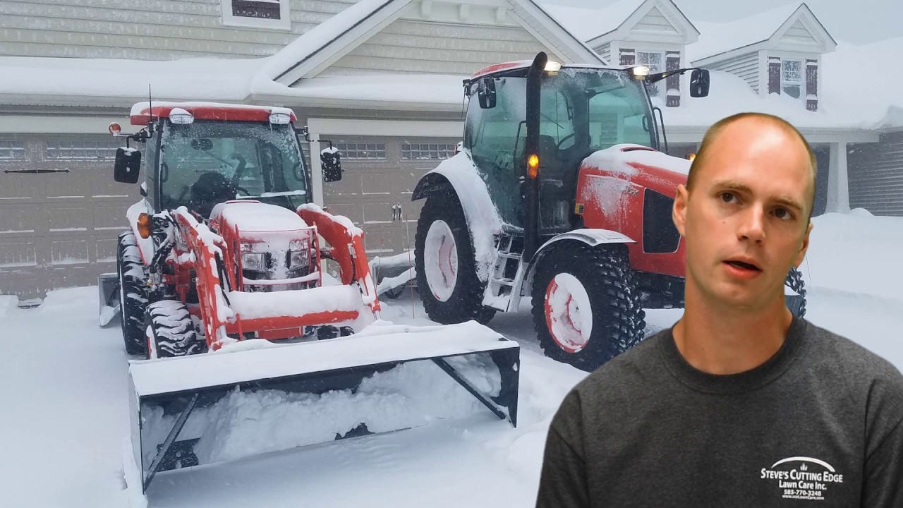 sceLawnCare- Inverted Snow Blowing