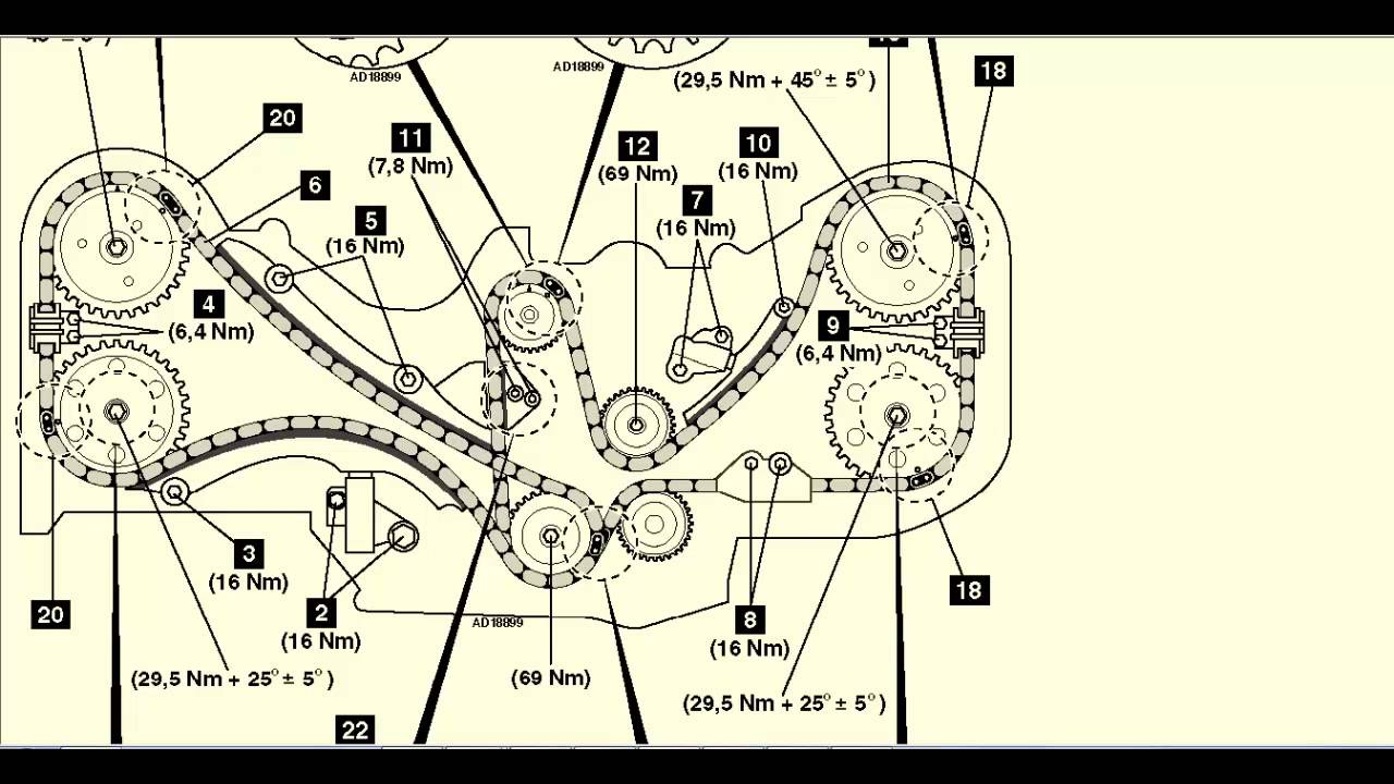 medium resolution of subaru legacy outback 3 0 2003 09 cadena de distribucion 2003 subaru outback fuse box diagram 2003 subaru outback stereo wiring diagram