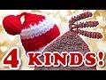 Crochet Hat Tassels - Pompom, Coil, Star, Ball - Decorate Your Hat!