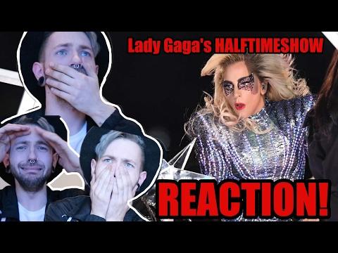 LADY GAGA - SUPERBOWL 51 REACTION  HALFTIME SHOW