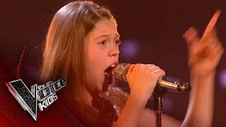 Courtney performs 'And I'm Telling You': Live Final | The Voice Kids UK 2017