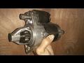 TOYOTA KIJANG REPAIR ELECTRIC STARTER MOTOR gasoline engine PART 1 ( memperbaiki dinamo starter )