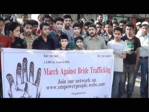 March against bride traffickin...
