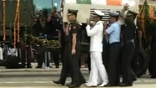 President Kalam's body taken to his home town Rameswaram spl video news 29-07-2015