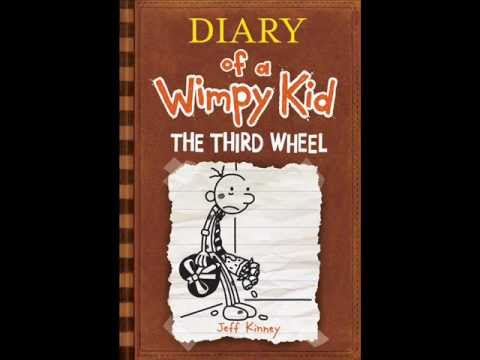 Diary Of A Wimpy Kid 7 The Third Wheel Official Cover Youtube