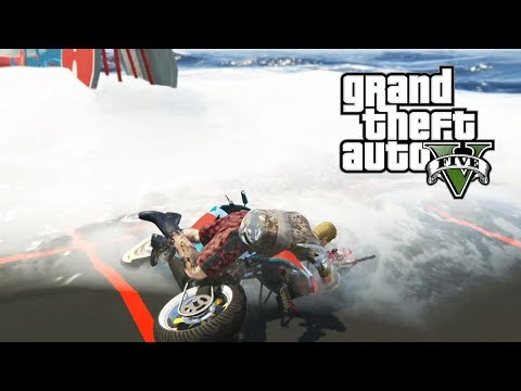 IMPOSIBLE CON ESTAS OLAS!! DENTRO DEL MAR! PARKOUR GTA V