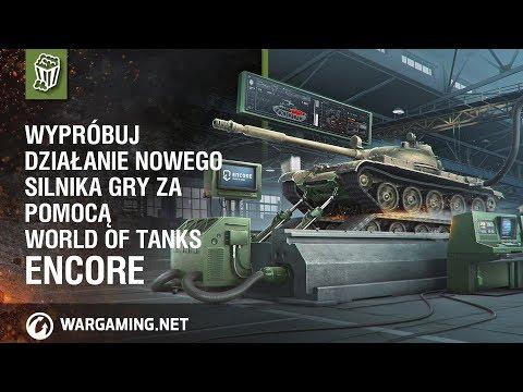 Wypróbuj działanie nowego silnika gry za pomocą World of Tanks enCore