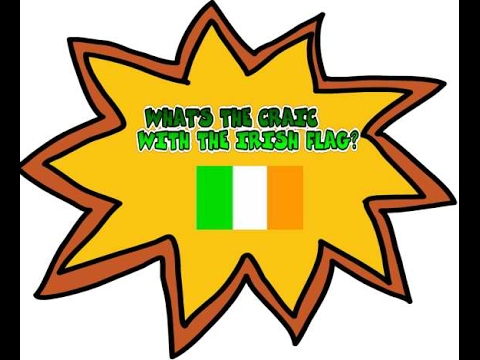 What's the meaning behind the Irish flag (tricolour) ?