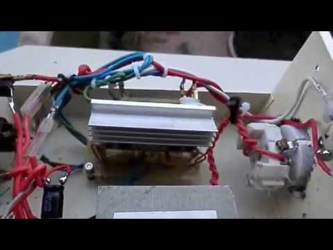 Esquema inversor potente Juanyus convertidor de 12 voltio onda pura