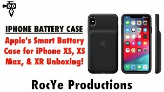 FINALLY!!! Apple's Smart Battery Cases Out For iPhone XS, XS Max, & XR