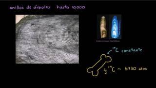 Datación por carbono 14. Parte 2   Biología   Khan Academy en Español