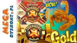 Treasure X Drgons  Znalazłam złoto  Mini bestie