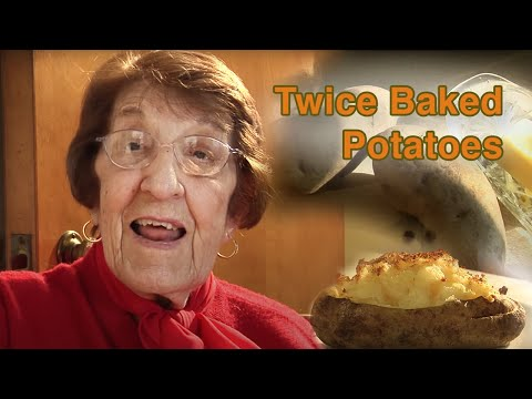 Great Depression Cooking - Twice Baked Potato