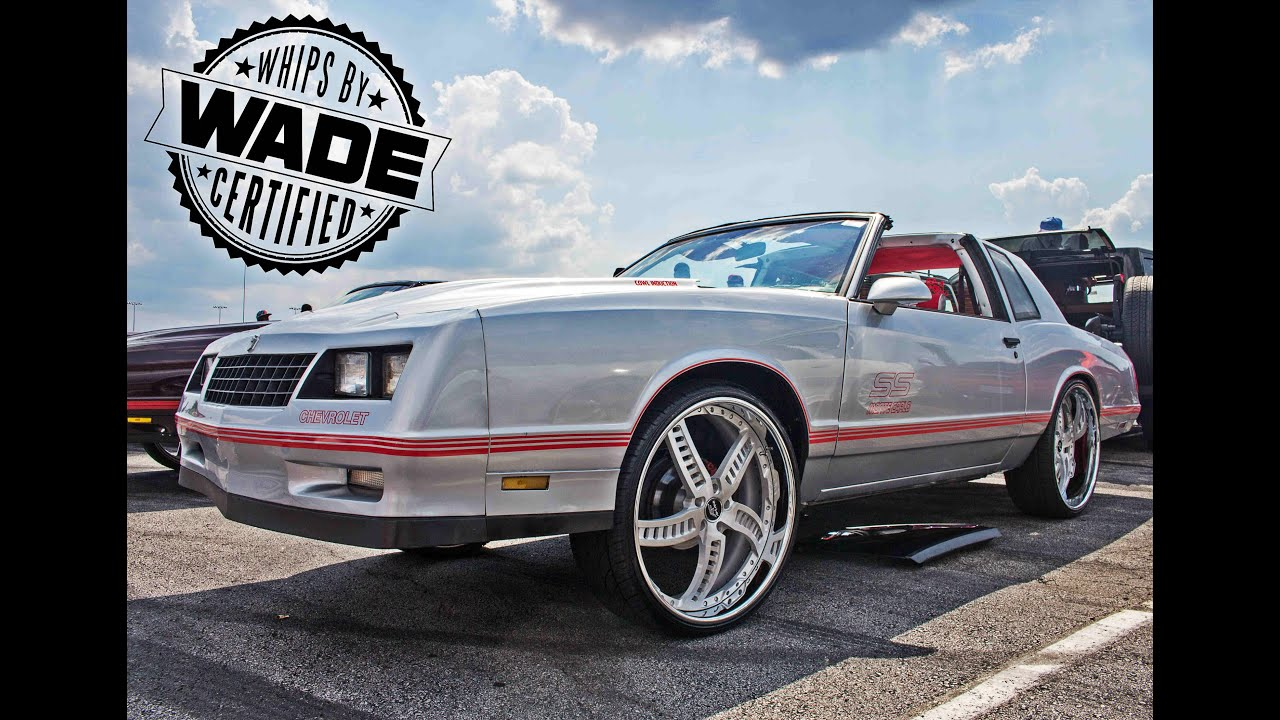 2015 Monte Carlo Ss >> King Of The South 2015 Silver Chevy Monte Carlo Ss On 24 Wheels