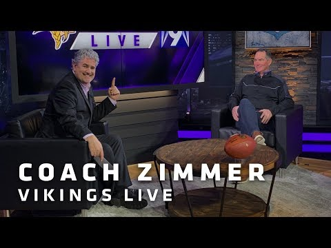 Mike Zimmer: If We Play A Clean Game and As A Team, We'll Have A Chance | Minnesota Vikings