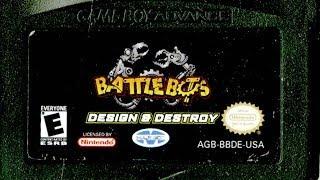 CGR Undertow - BATTLEBOTS: DESIGN & DESTROY review for Game Boy Advance