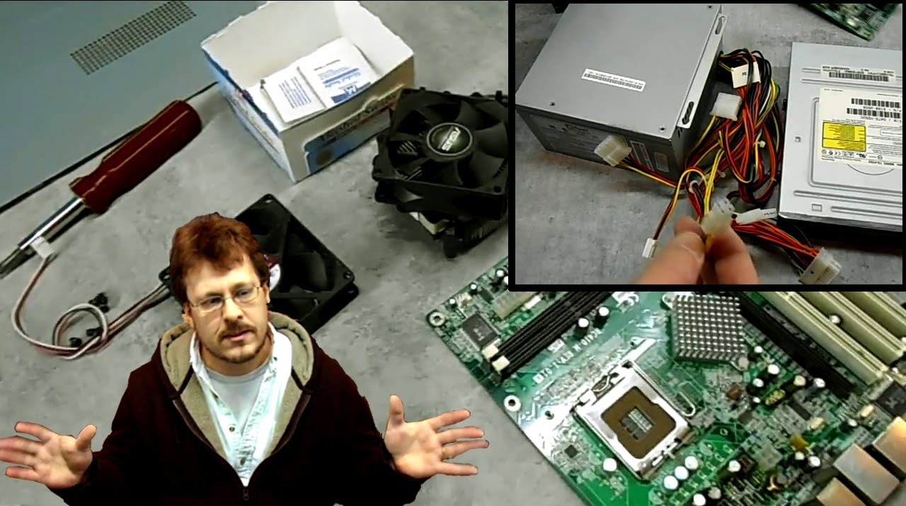 Beginners Guide To Building A Desktop Computer Easy Part 1