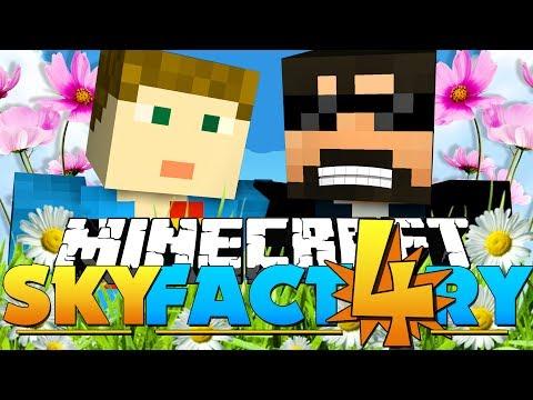 Minecraft: SkyFactory 4 -FLOWER POWER?! [17]