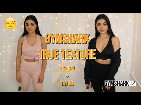 72cf79b32 THEY'RE SO UNCOMFORTABLE!   GYMSHARK TRUE TEXTURE   REVIEW + TRY ON ...
