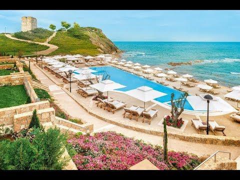 Sani Beach Hotel Greece Сани Бич Отель Греция Обзор