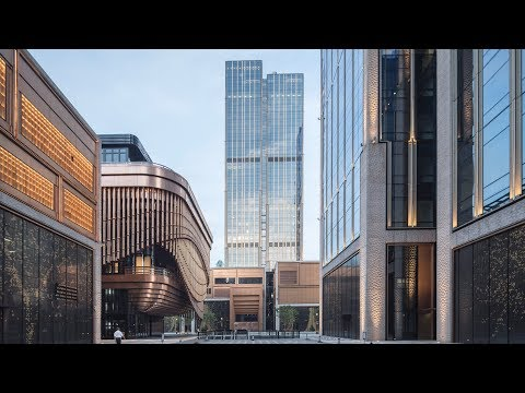 Foster + Partners and Heatherwick Studio reveal Shanghai skyscraper duo