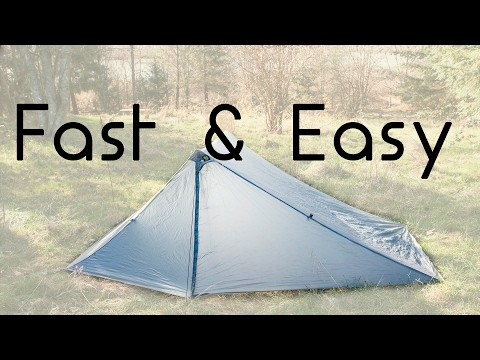 How to Pitch a TarpTent