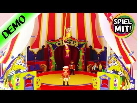 Playmobil Zirkus deutsch aufbauen | DER ZIRKUS IST IN DER STADT! Playmobil Videos Aufbau