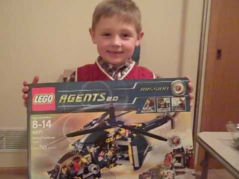 My Cousin Ben On Christmas Eve With His Lego Agents 2.0: Aerial Defense Unit