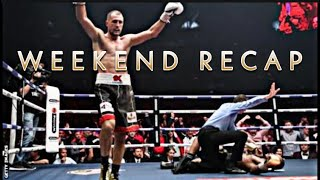 THE RELAY: WEEKEND RECAP, Kovalev vs Yarde reaction, Andy Ruiz says will retire AJ, can he do it
