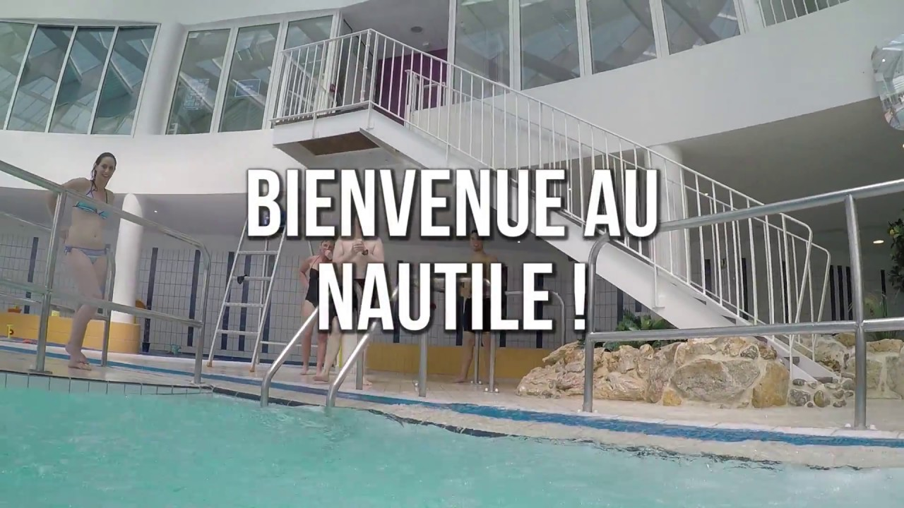 Centre aquatique le nautile de lisieux youtube for Piscine lisieux