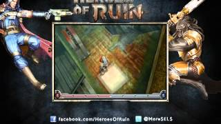 Heroes Of Ruin (Nintendo 3DS) - Vídeo de walkthrough, pt.1