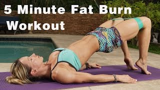 5 Minute Fat Burn Workout #120 - Power Band