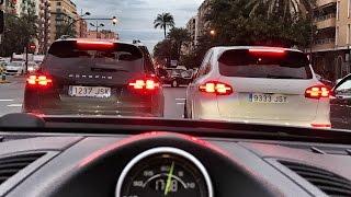 Испания, Валенсия   путь к тесту новой PORSCHE Panamera   одной из главных автоновинок этого года  )
