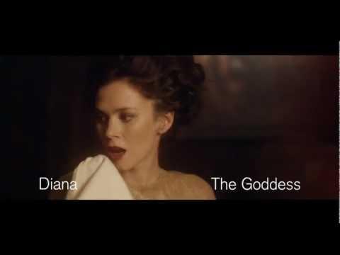 Metamorphosis: Titian 2012   Anna Friel as the Goddess Diana
