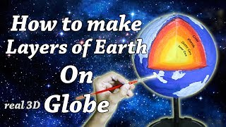 Very easy yet fantastic way of making the model of layers of earth ...