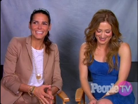 Angie Harmon & Sasha Alexander - Interview 2011 - Rizzoli & Isles (deutsche Untertitel)