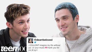 Troye Sivan and Lauv Compete in a Compliment Battl