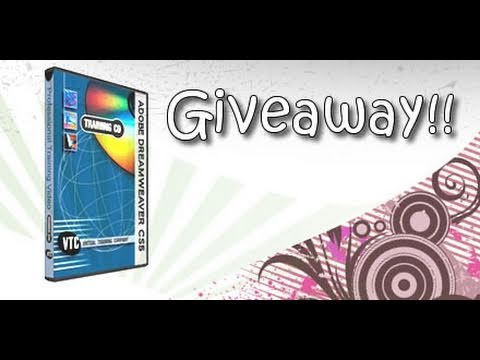 Dreamweaver CS5 Professional Course CD Giveaway !!