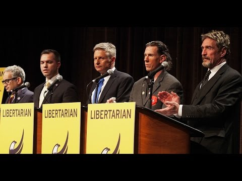 Civil Rights Act Question at Libertarian Debate
