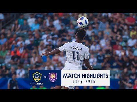 HIGHLIGHTS: LA Galaxy vs. Orlando City SC | July 29, 2018