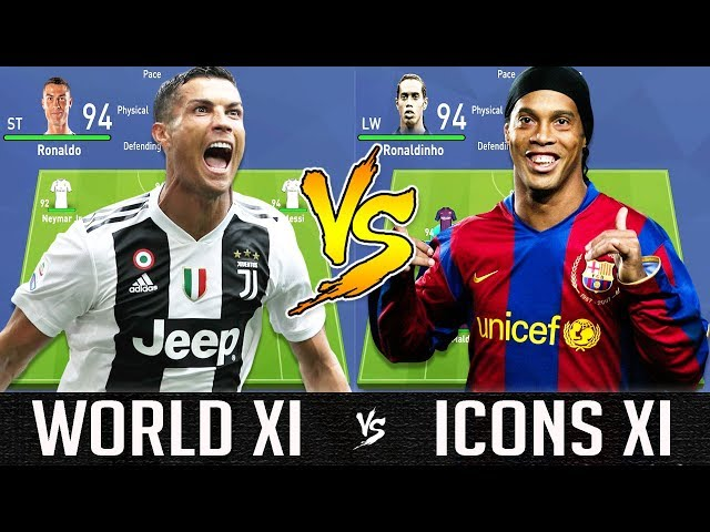 FIFA 19: This is what happens when a World XI takes on an Icon XI