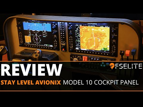 Stay Level Avionix Model 10 Cockpit Panel: The FSElite First Look