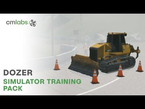 Dozer Simulator Training Pack - CM Labs