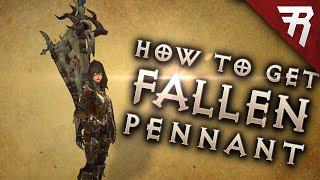 How to get Fallen Shaman Khazra Pennant / Banner