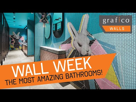 Wall Week - THE MOST AMAZING MELBOURNE BATHROOMS!